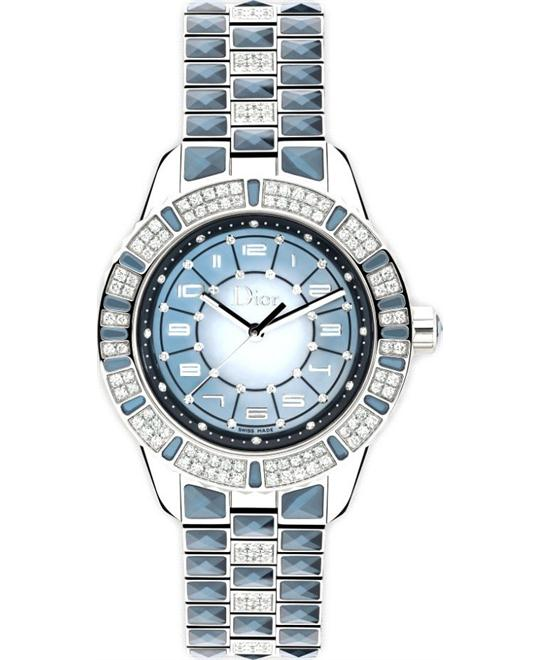 Dior Christal CD114510M001 Blue Mother of Pearl Automatic 38mm
