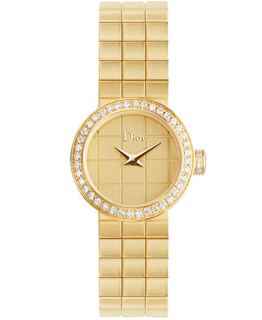 Christian Dior La D De Dior CD040154M001 Gold Watch 19