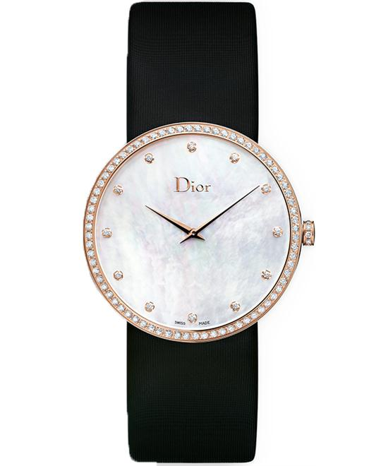Christian Dior La D De Dior CD043171A001 Mother of Pearl Dial 38