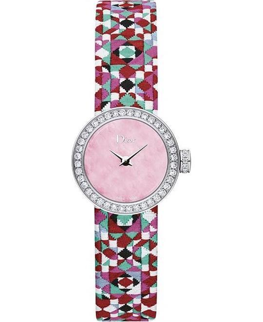 đồng hồ Dior La D De Dior Pink CD040110A026 Watch