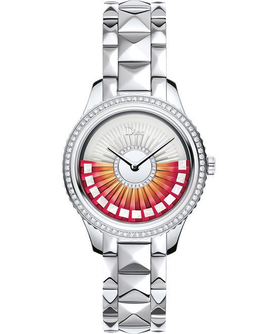 DIOR VIII Grand Bal Plisse Diamond Ladies Watch 36mm