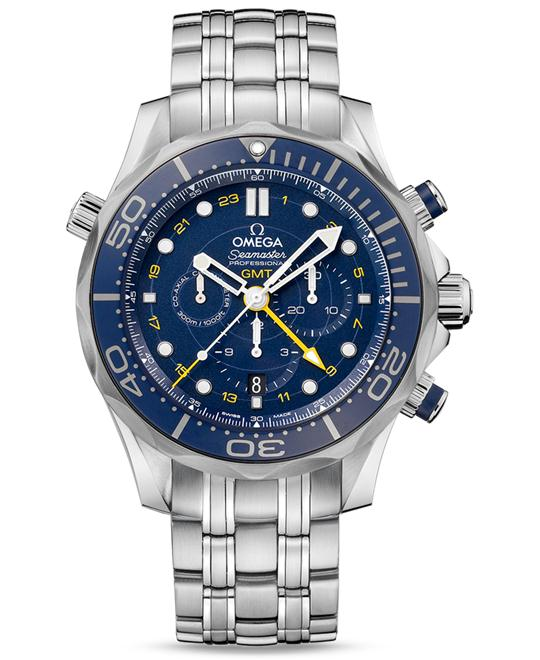 OMEGA SEAMASTER DIVER 300M 212.30.44.52.03.001 CO‑AXIAL GMT 44mm