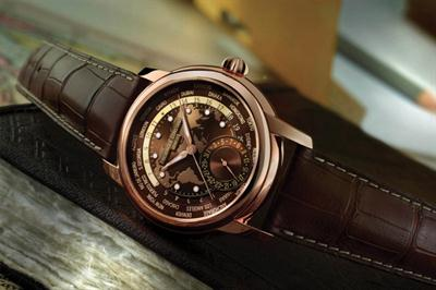 Giới thiệu đồng hồ Frederique Constant Classic Manufacture Worldtimer Brown