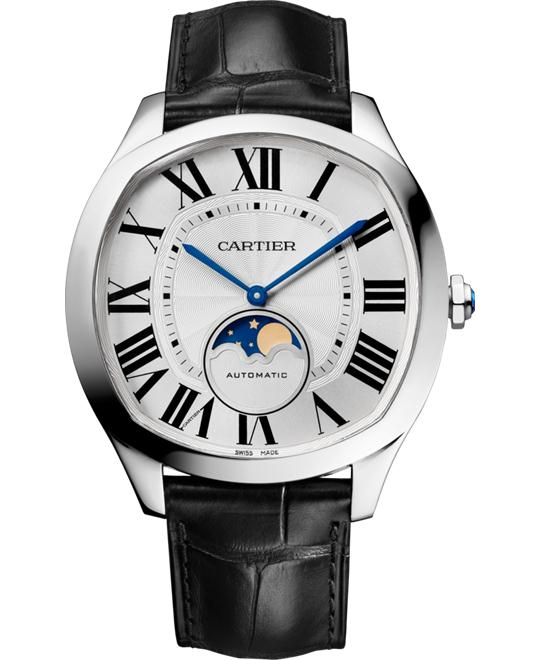 DRIVE DE WSNM0008 CARTIER MOON PHASES 41MM
