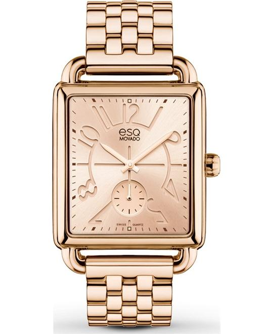 ESQ by Movado Origin Rose Gold-plated Steel Ladies Watch 30mmm