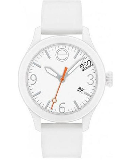 ESQ Movado One White Silicone-Wrapped Watch 42mm