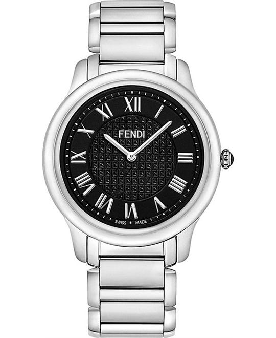 FENDI CLASSICO F251011000 BLACK DIAL MEN'S WATCH 40MM