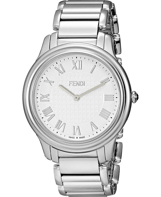 FENDI CLASSICO F251014000 WHITE  MEN'S WATCH 40MM