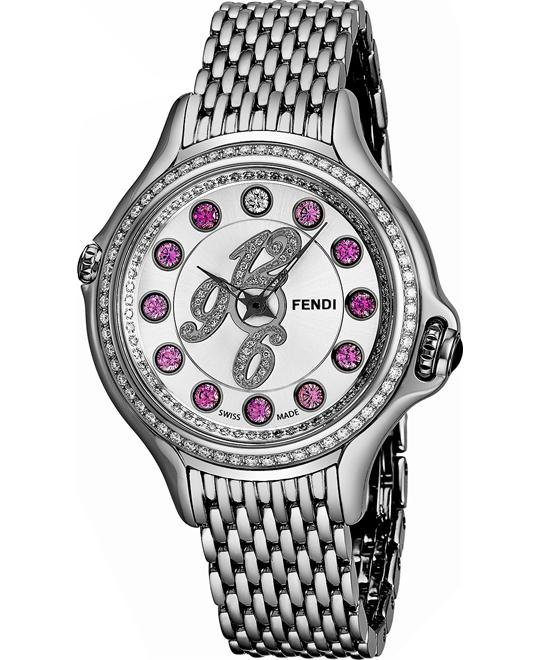 Fendi Crazy Carats F105036000B3P02 Diamond Watch 38mm