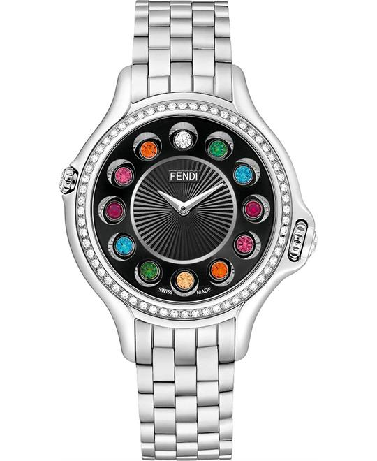 Fendi Crazy Carats F107031000B0T05 Diamond 38mm