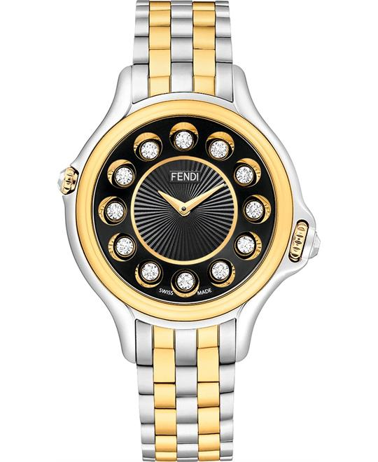 Fendi Crazy Carats F107131000T05 Watch 38mm