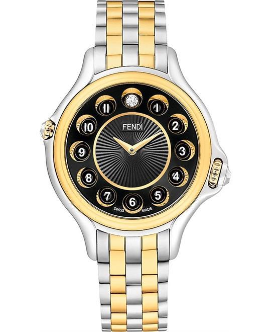 Fendi Crazy Carats F107131000T07 Watch 38mm