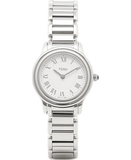 Fendi Classico F251024000 Analog Silver Watch 26mm