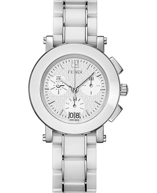 FENDI F662140 CERAMIC BRACELET WATCH 38MM