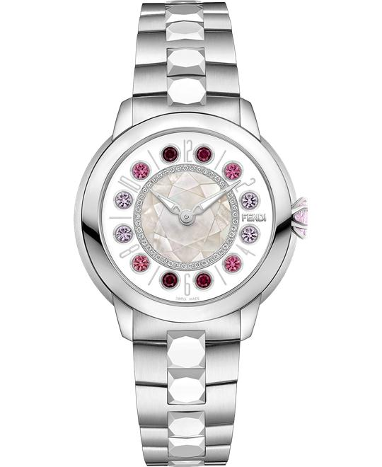 Fendi Ishine FOW418A12DF10R3 Rotating Gemstones 33mm