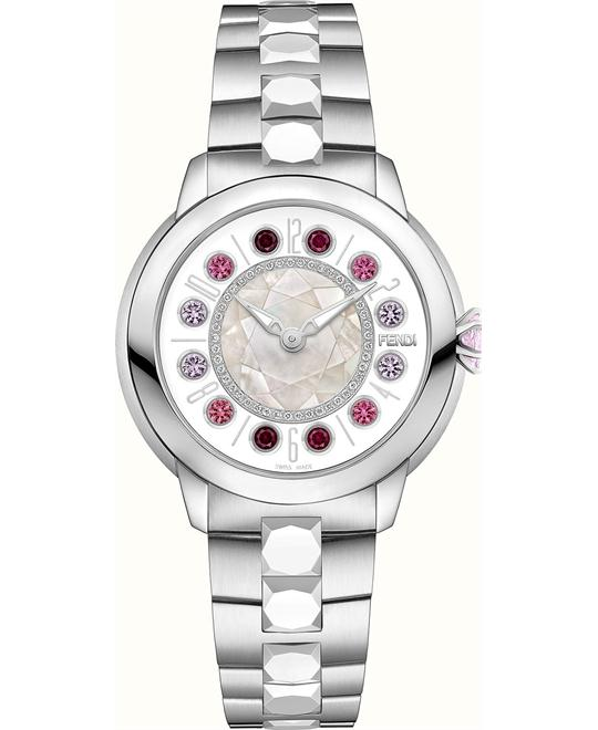Fendi Ishine FOW420A12EF10R6 Rotating Gemstones 38mm