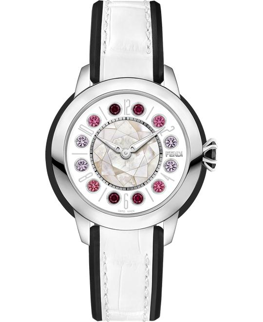 FENDI ISHINE FOW432A12LF10R9 ROTATING GEMSTONES 33MM