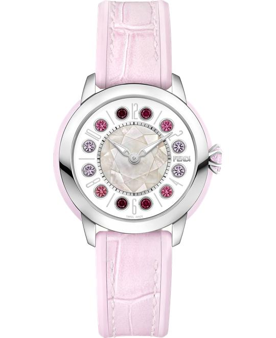 Fendi Ishine FOW435A12LF10R8 Rotating Gemstones 38mm
