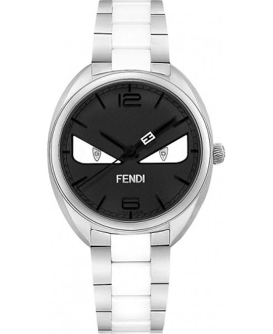FENDI MOMENTO BLACK F216031004D1 DIAL LADIES WATCH 34MM