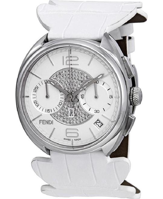 FENDI MOMENTO F212014041D3 ST. VALENTINES DIAMOND 40MM