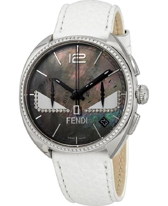 FENDI MOMENTO F214011441E1 BLACK BUG WATCH 40MM