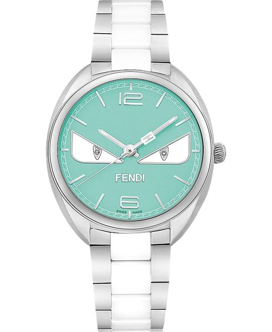 FENDI MOMENTO F216033104D1 TURQUOISE WATCH 34MM
