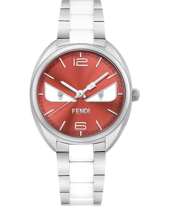đồng hồ Fendi Momento F216037104D1 Bugs Ceramic Watch 34mm