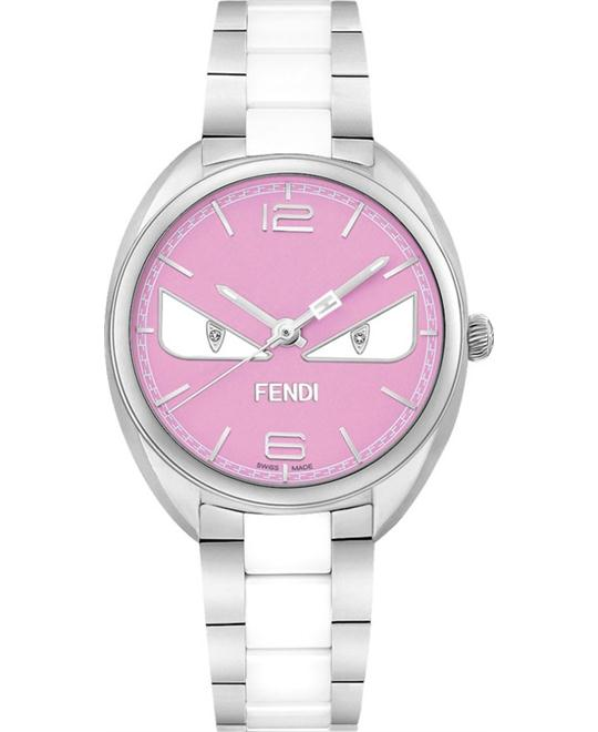 đồng hồ Fendi Momento F216037204D1 Diamond Bug Watch 34mm