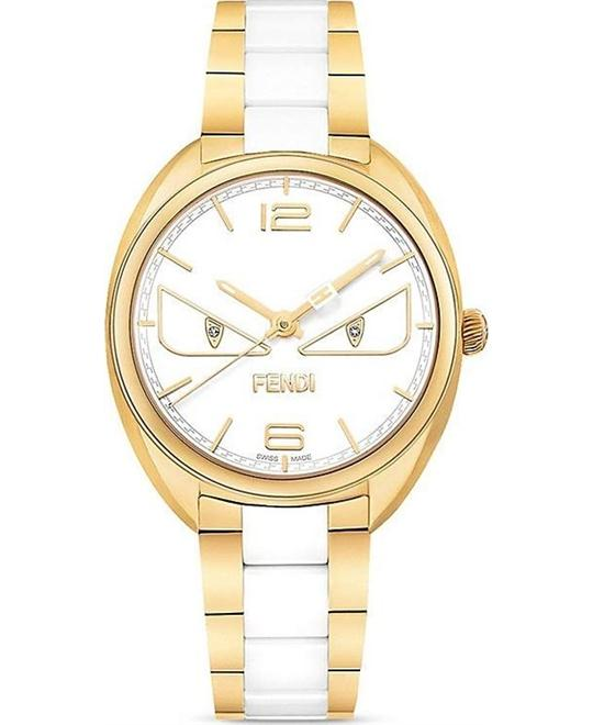 đồng hồ Fendi Momento F216434104D1 Bugs Ceramic Watch 34mm