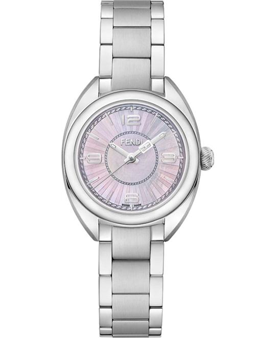 FENDI MOMENTO F218027500  PINK MOTHER OF PEARL DIAL 26MM