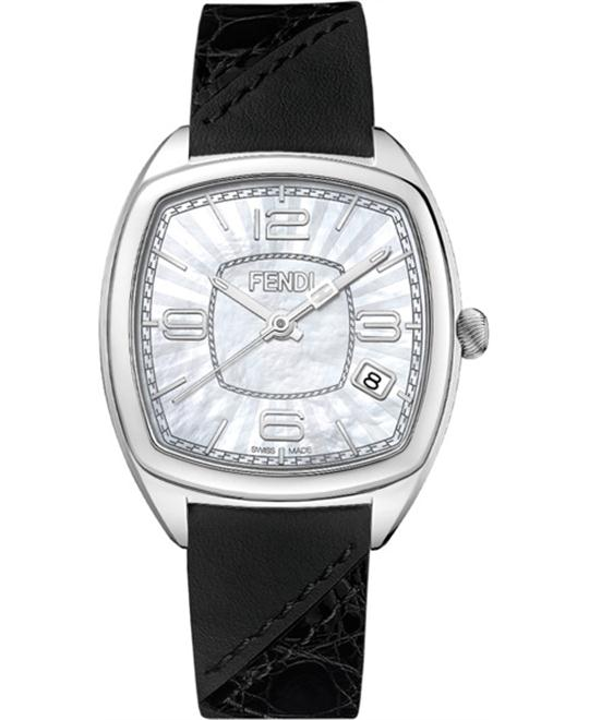 FENDI MOMENTO F220034511 MOTHER OF PEARL DIAL 31.5x32MM
