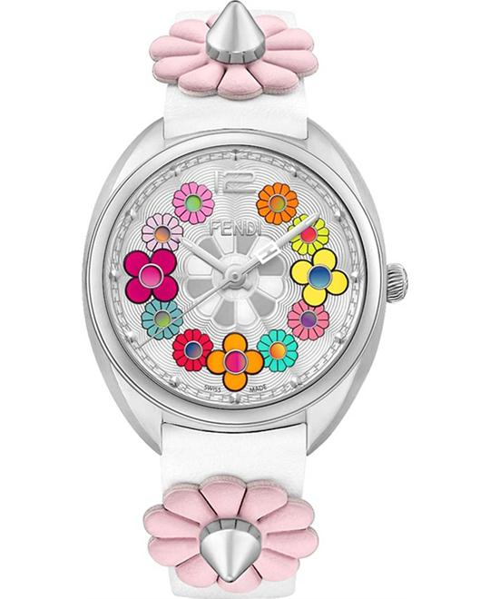 Fendi Momento Flowerland F234034041 Watch 34mm