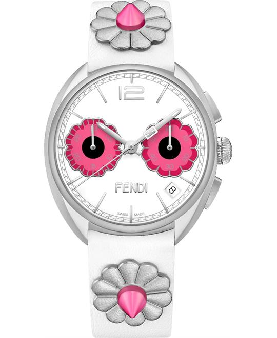 Fendi Momento Flowerland F235014747 Watch 34mm