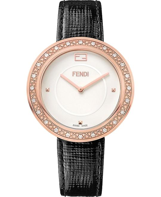 Fendi My Way F350534011b0 Diamond Watch 36mm