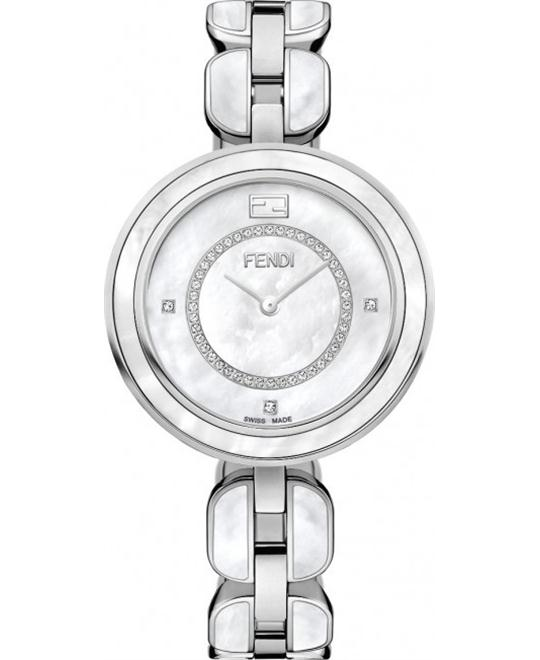 Fendi My Way F361034500d3 Diamond Watch 36mm