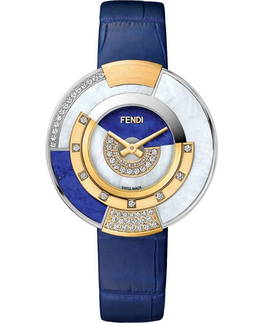 FENDI POLICROMIA F511023531H2 DIAMONDS 33MM