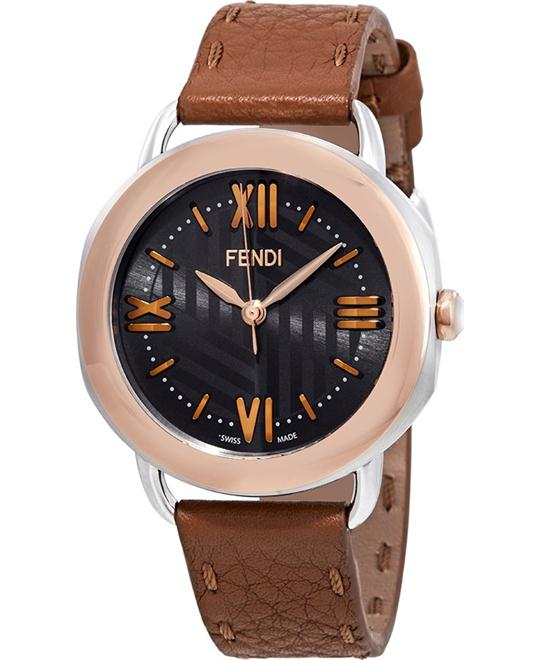 FENDI SELLERIA 8022360H0-BR WATCH 36MM