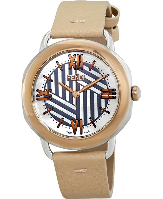 FENDI SELLERIA F8112365H0-PK WATCH 36MM