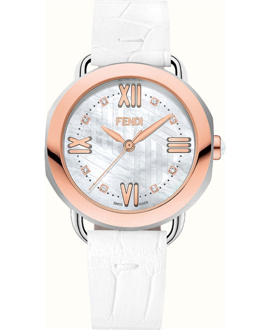 Fendi Selleria FOR356U89F03AF Swiss Watch 36mm