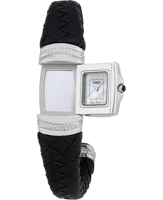 FENDI SPY MEDIUM F90124 SIZE MOTHER OF PEARL DIAL 20MM