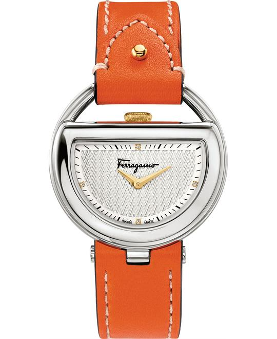 Salvatore Ferragamo FG5040014 Buckle Diamond 37mm