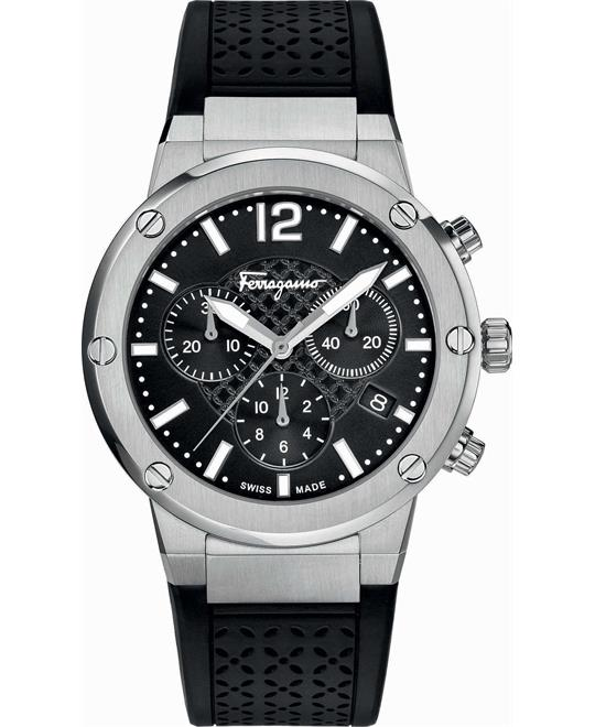 Ferragamo F-80 Chronograph Watch 39mm