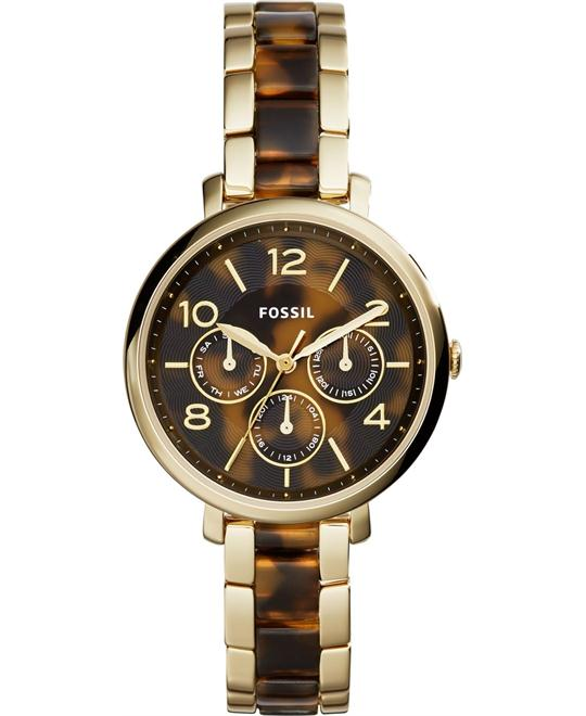 Fossil Analog Two Tone Quartz Women's Watch 36mm