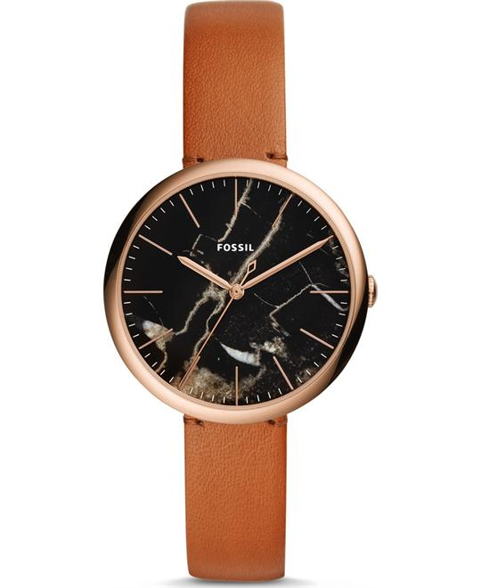 FOSSIL ANNETTE THREE-HAND LUGGAGE WATCH 36MM