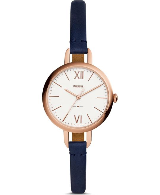 Fossil Annette Three-Hand Navy Watch 30mm