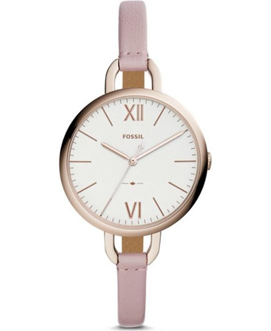 Fossil Annette Three-Hand Pastel Pink Watch 36mm