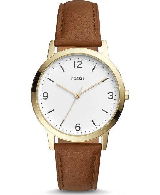 Fossil Blake Three-Hand Light Brown Watch 40mm
