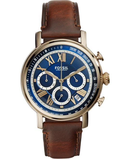 FOSSIL Buchanan Blue Dial Chronograph Men's Watch 41MM