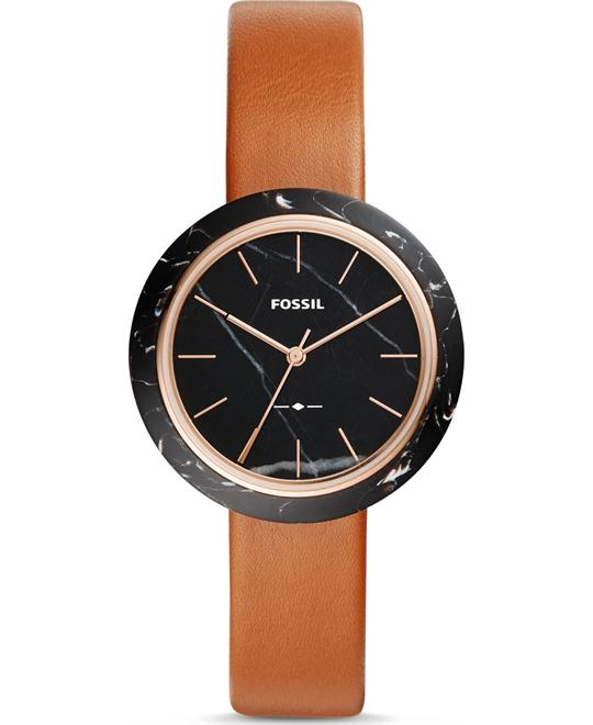 Fossil Camille Three-Hand Luggage Watch 37mm