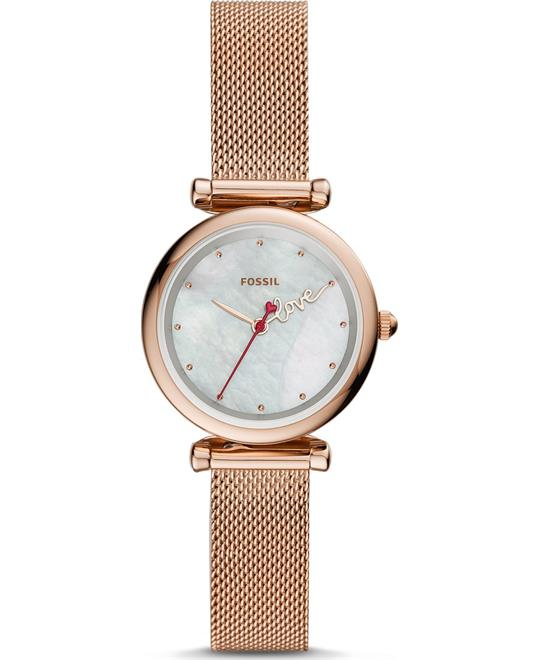 Fossil Carlie Mini Watch 28mm